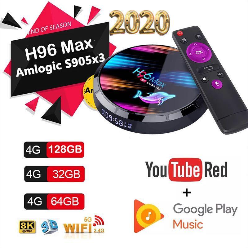Shiwaki Portable Smart Android 9.0 MX10 PRO Quad Core 4GB//32GB Media Player