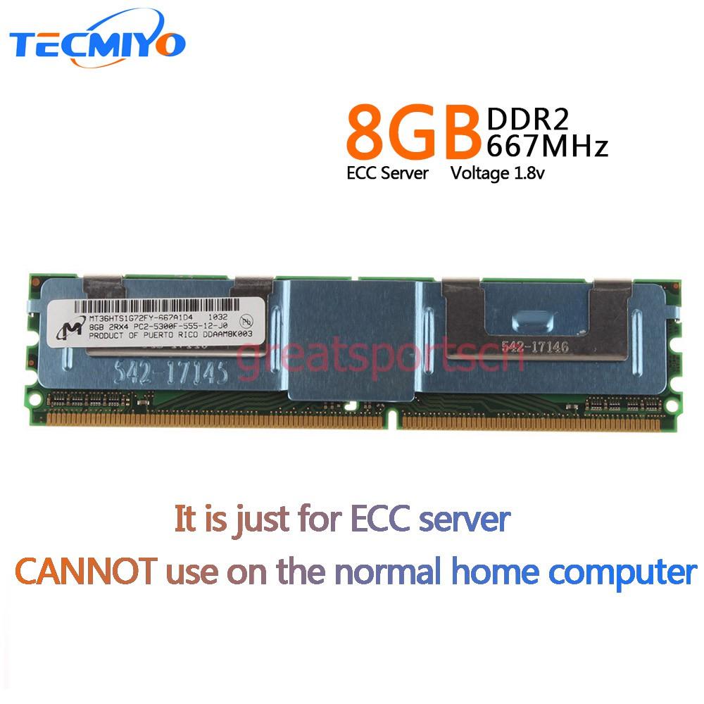 2GB DDR2 RAM Fb-Dimm PC2-5300F 667MHz 240 Pin Server Memory ECC Memory