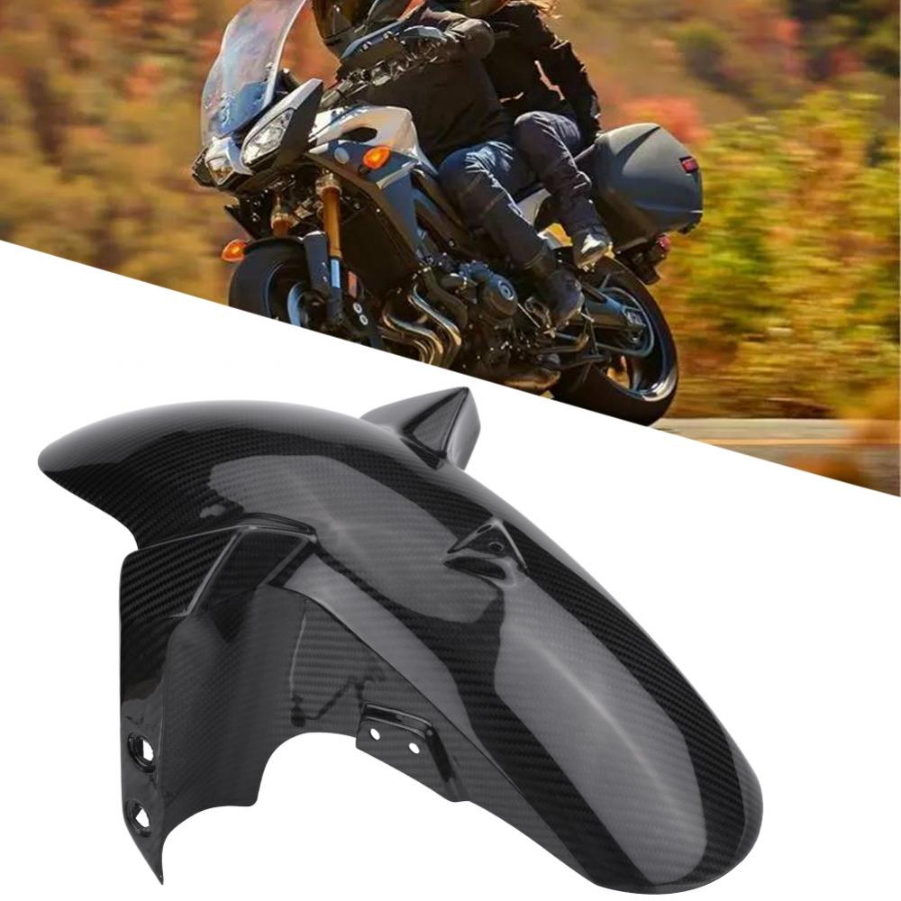 1 PC of Carbon Fiber Motorcycle Front Mud Flap Guard Mudguard Cover for Yamaha MT-09 //FZ-09 14-17. Motorcycle Mudguard