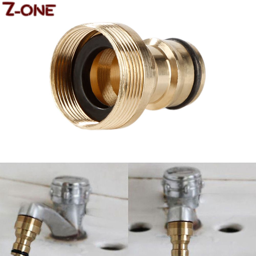 Aluminum Hose Tube Fitting Adapter Garden Home Water Pipe Tap Quick Connector  Z