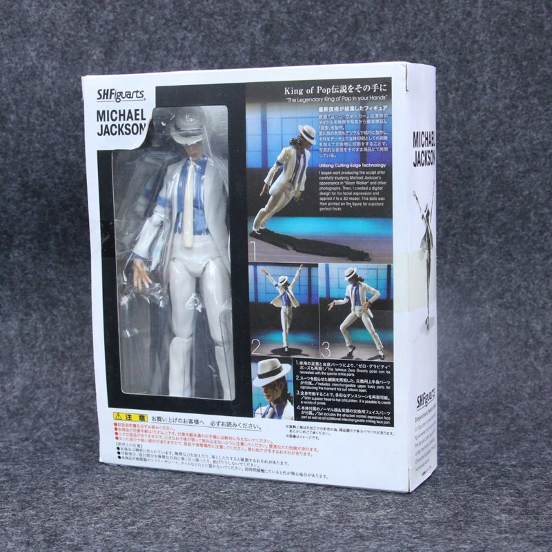SHFiguarts Michael Jackson Smooth Criminal Moonwalk Action Figure Collection