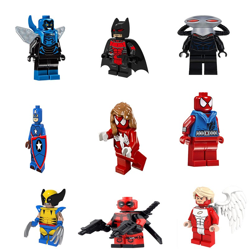 Ned Liz Spiderman Far From Home Lego Moc Minifigure Gift Kids Toy Collection