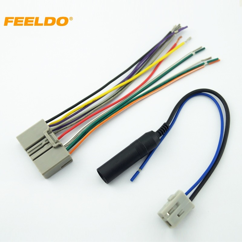 productimage  productimage  car audio cd player radio stereo wiring harness  adapter