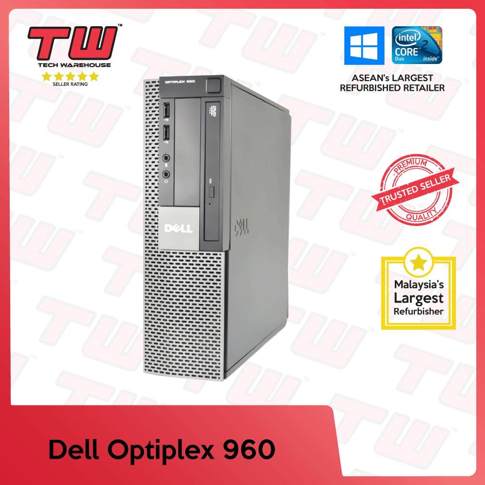 Dell Optiplex 960 C2D (SFF) Desktop PC (Factory Refurbished) + Windows 10  Home