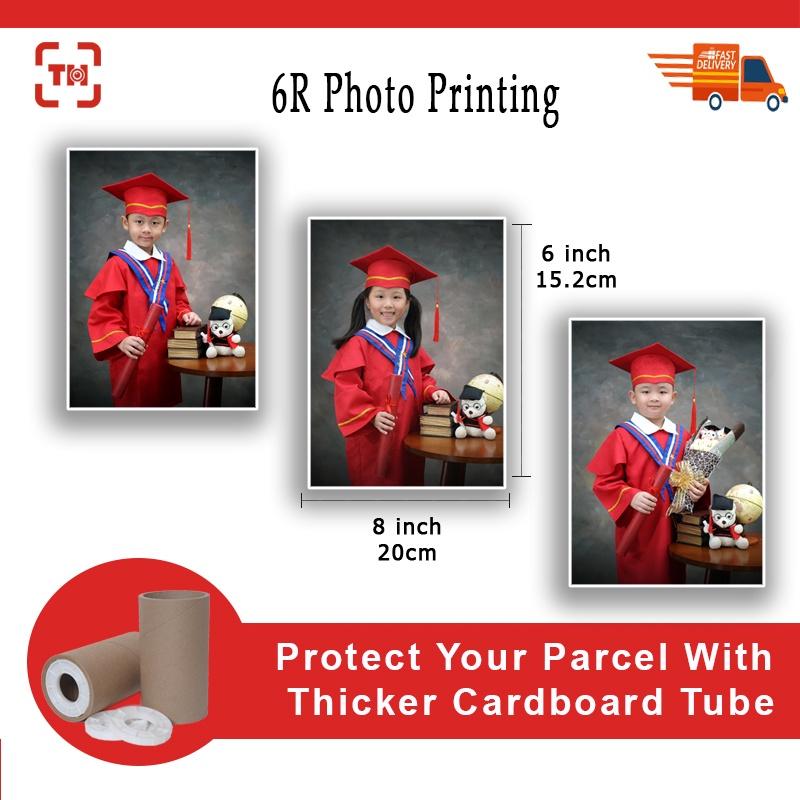 6R (6x8inch) High Quality Photo Printing (Glossy/Matt)/Digital photo printing