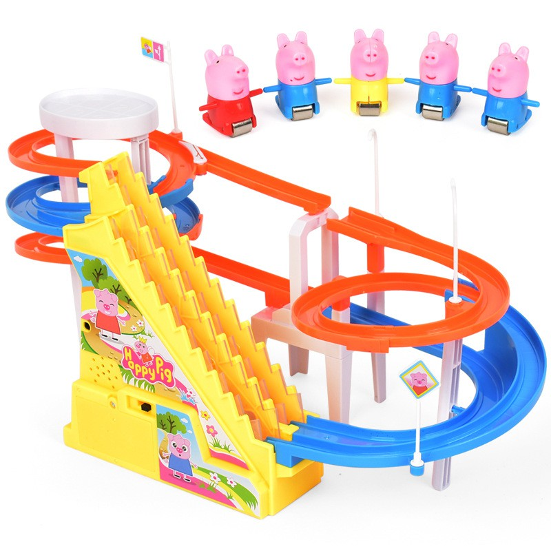 Peppa pig toys George family educational toys electric ...