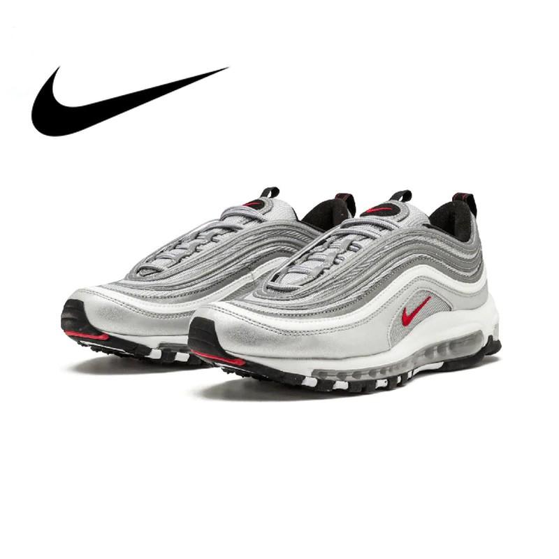 Original Nike Air Max 97 OG QS 2017 RELEASE Running Shoes for Men Official