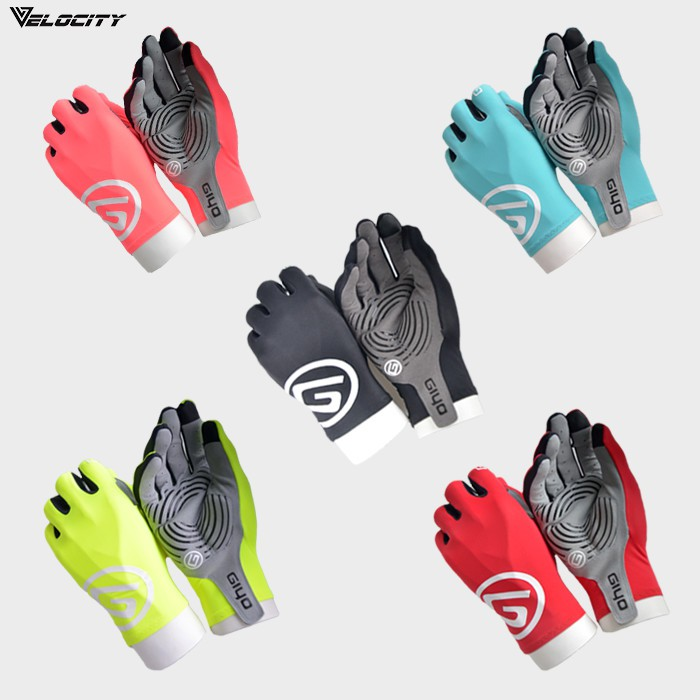 [READY STOCK] Velocity Velocool Cycling Breathable Full Finger Gloves