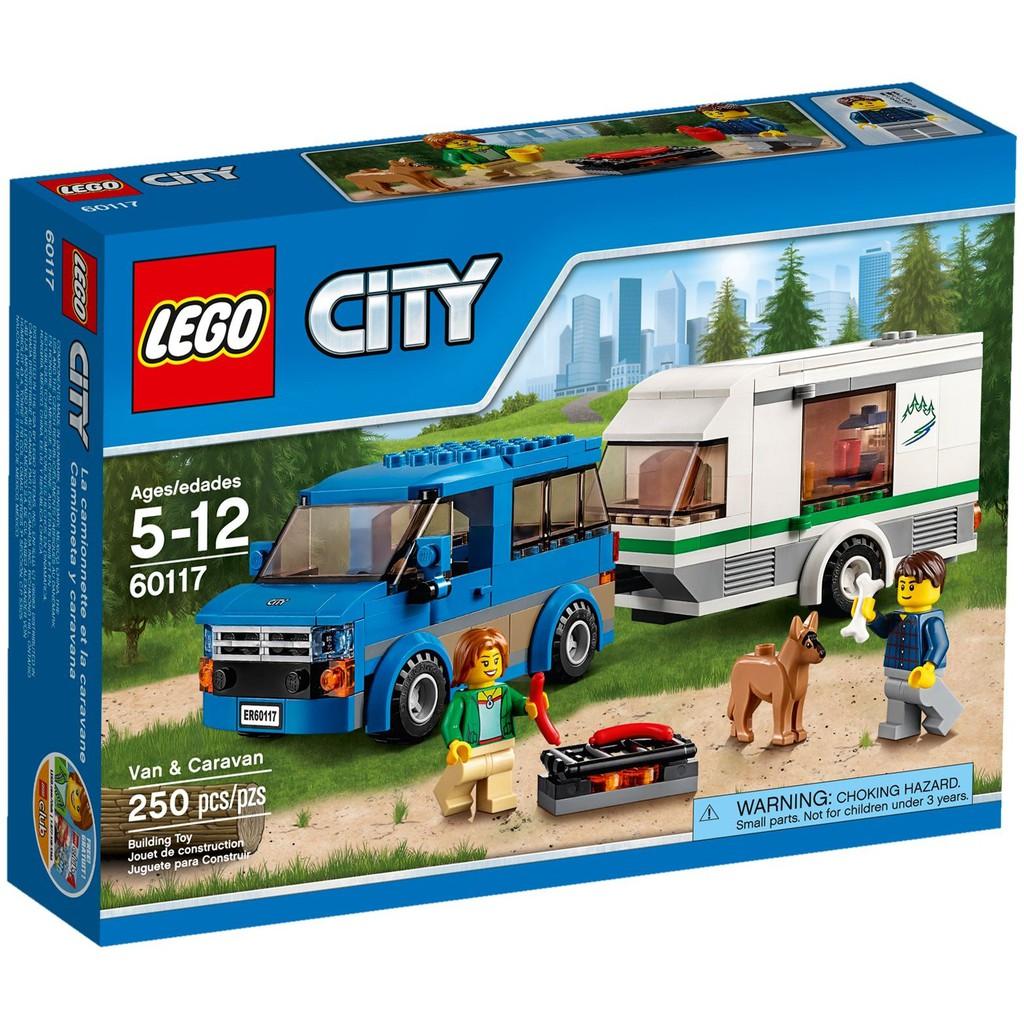 Vanamp; Lego 60117 City Caravan Original New Misb 6bfgyY7v