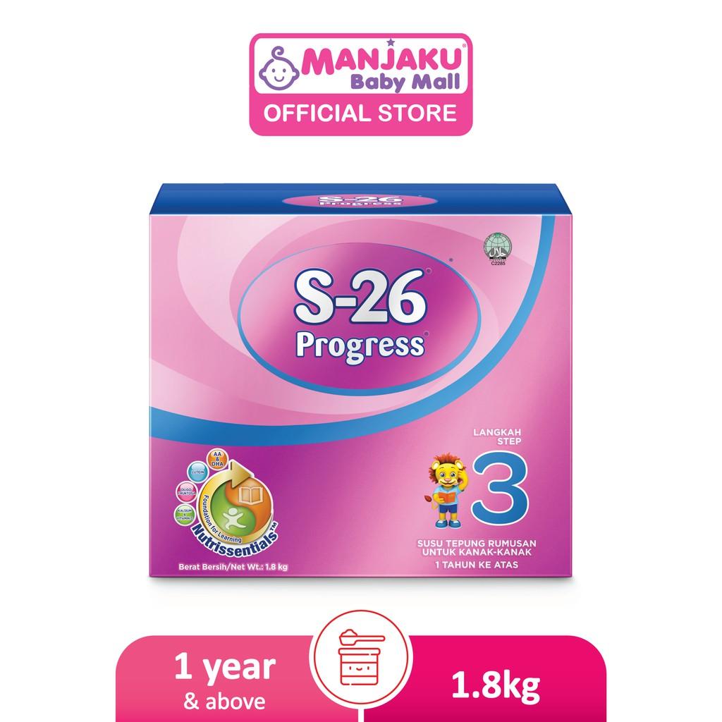 S-26 Progress Step 3 Toddler Milk Formula (1.8kg)