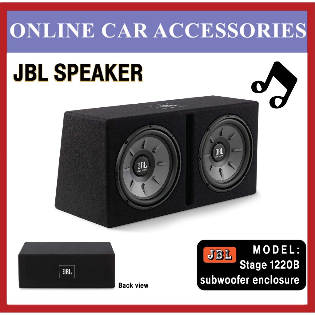 """JBL Stage 1220B Dual 12"""""""" Subwoofer with Enclosure"""