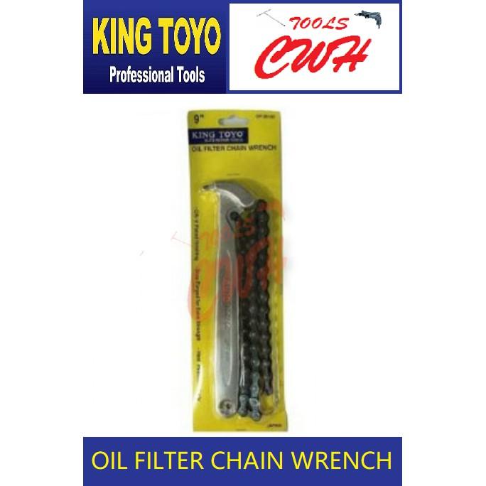 King Toyo Oil Filter Chain Wrench                         ----------------------STANLEY BONDHUS M10 SATAGOOD TOPTUL SATA
