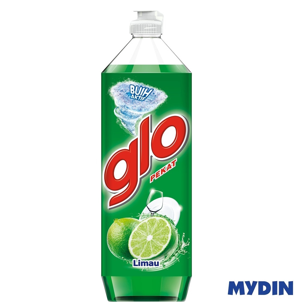 Glo Concentrated Dishwashing Liquid - Lime (900ml)