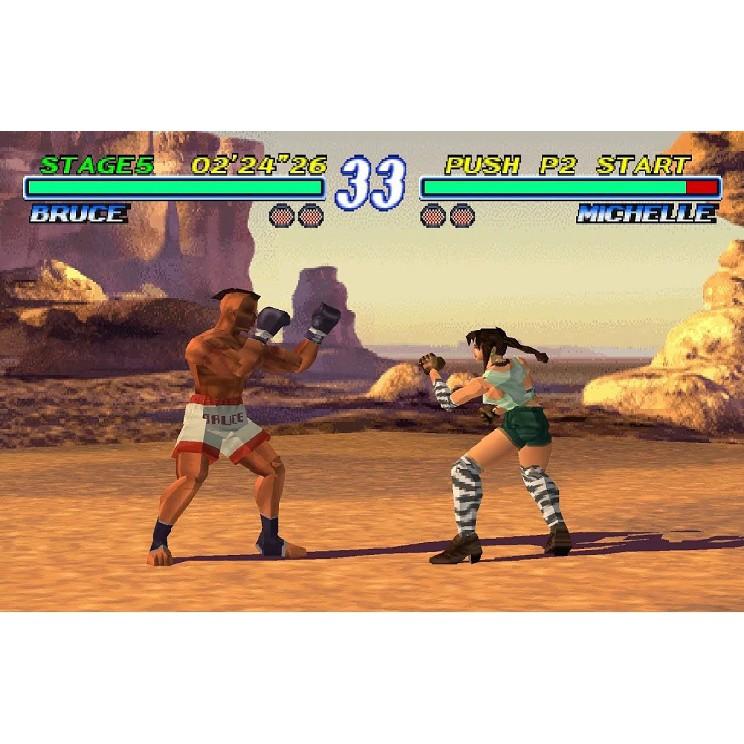 PS1 Game Tekken 2, Fighting Game, English version / PlayStation 1