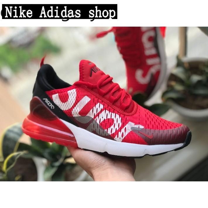 online store 7e108 e76bd FAST SHIPPING🔥SLK Nike Air Max 270 x Supreme Shoes Men Airmax 27c Shoes