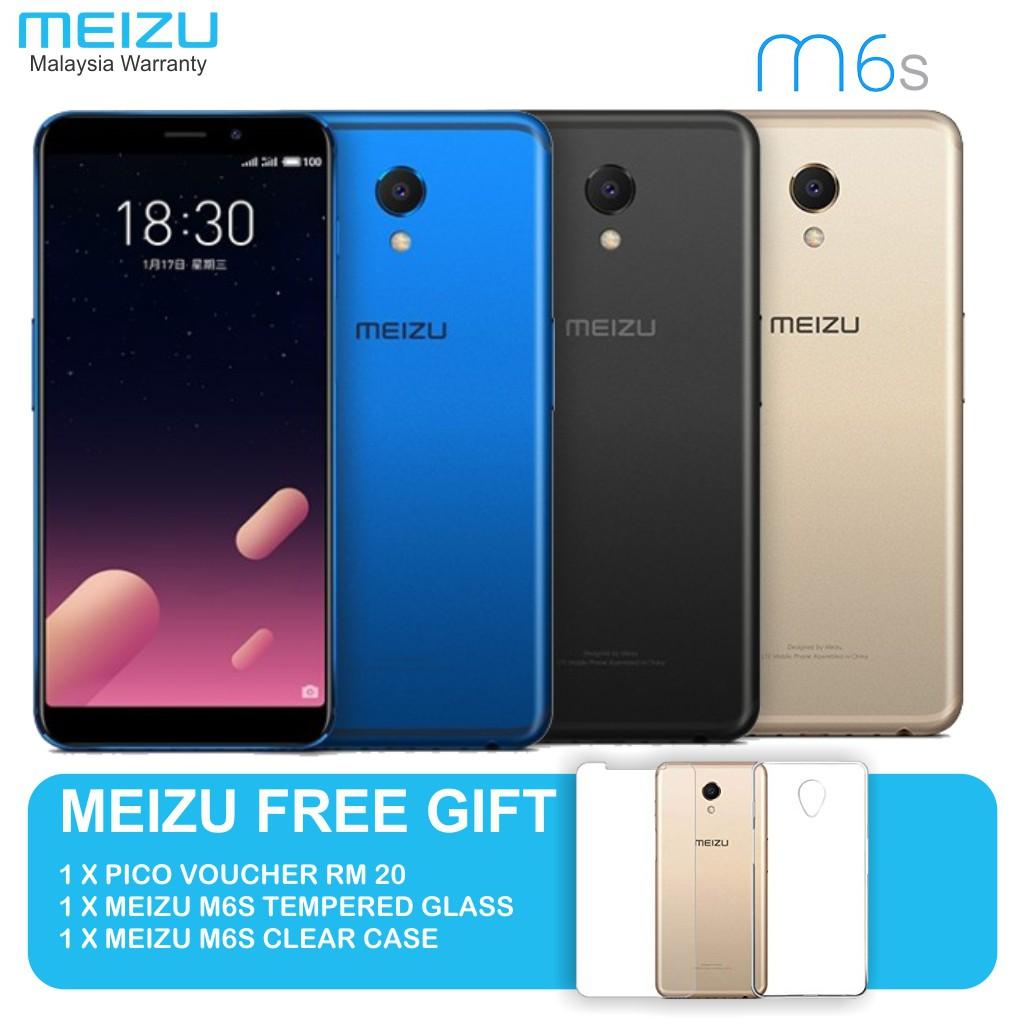 Meizu M6S (3GB RAM/32GB ROM) - Official Meizu Malaysia Warranty