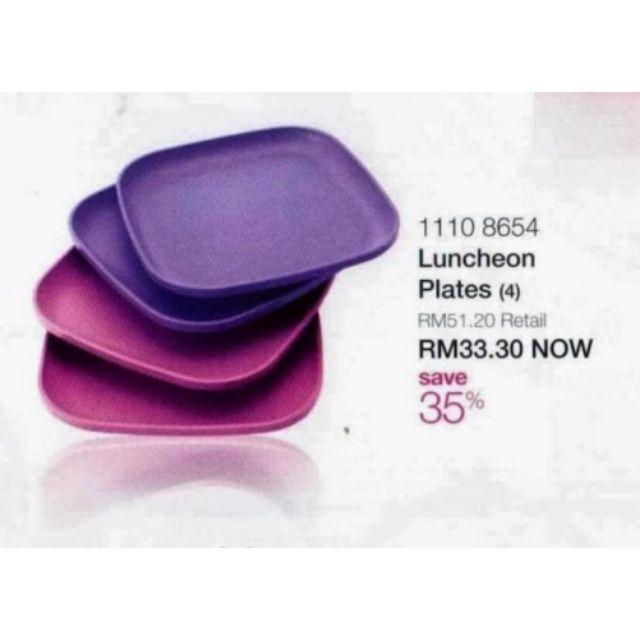 Tupperware Luncheon Plates 11108654