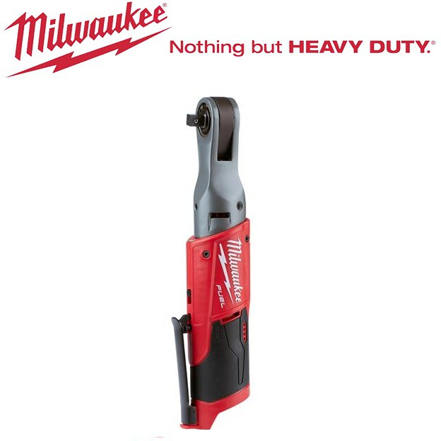 "Milwaukee M12 FUEL Sub Compact 3/8"" Impact Ratchet Bare Tool M12FIR-0"