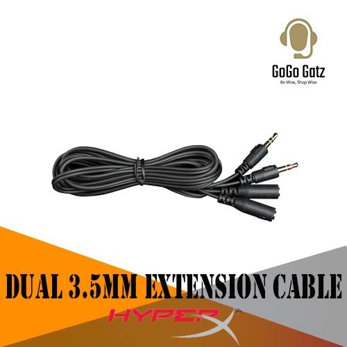 {HXS-HSEC1} HyperX Dual 3.5mm Extension Cable
