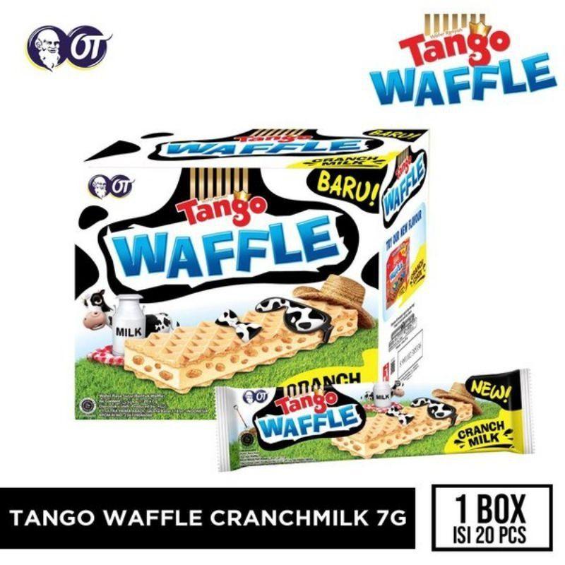 (Halal)Tango Waffle Cranch Box Chocolate/Milk 7g×20pcs