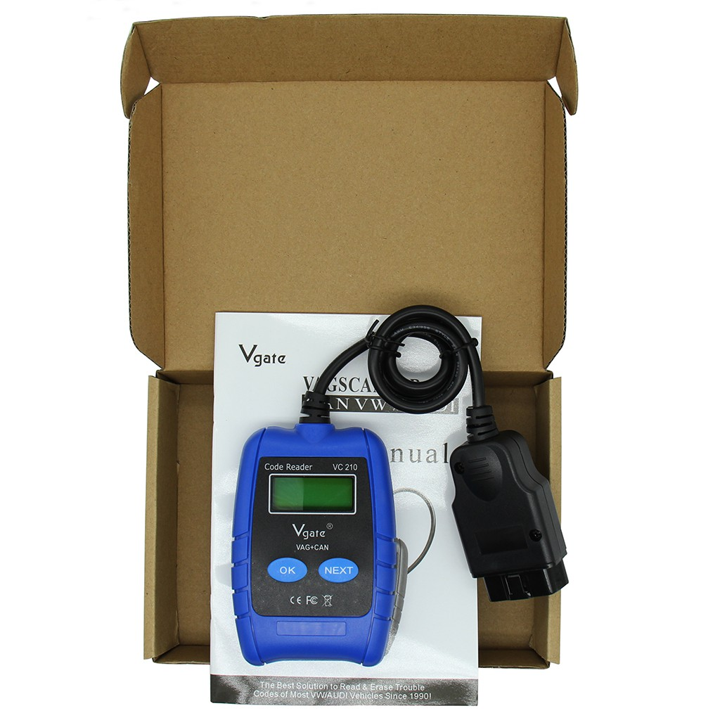 VAG Tool Auto Scanner Code Reader Diagnostic Scan Tool for VW Audi Seat  Skoda