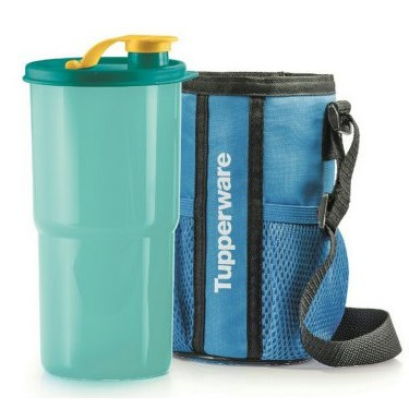 Tupperware Thirst quake Tumbler with Pouch