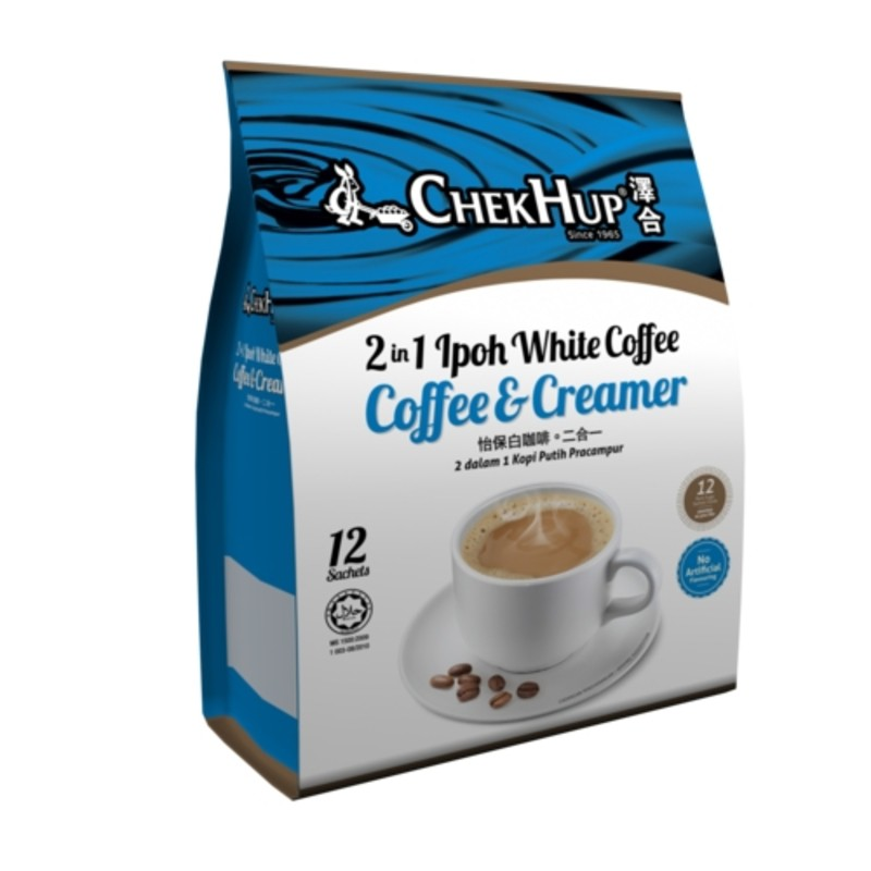 Chek Hup Ipoh White Coffee [Bundle of 3] [Combo set of Original, Rich, and 2in1]
