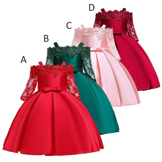 4a2f60cb8ea39 2019 Summer Kids Dresses For Girls Elegant Children Princess Evening ...