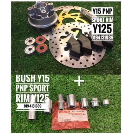 Y15 Disc Complete Set Pnp Sport Rim Y125 [ReadyStock]