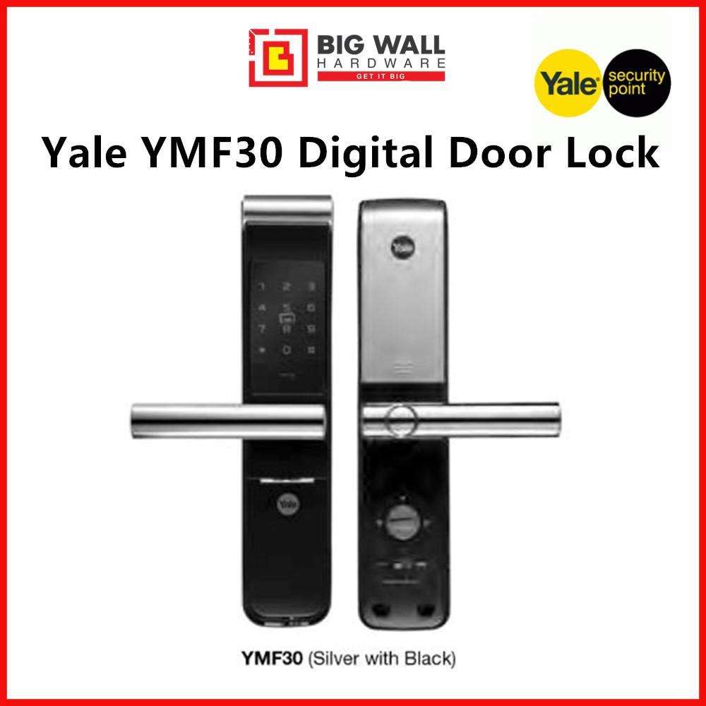 Yale YMF30 Digital Door Lock (Card & Code) With Free Luggage Padlock