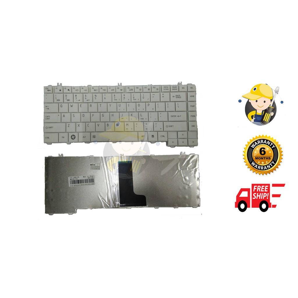 Toshiba L600 L630 L640 C600 Series Keyboard Us Shopee Malaysia C640 L635 L645 L735 L745