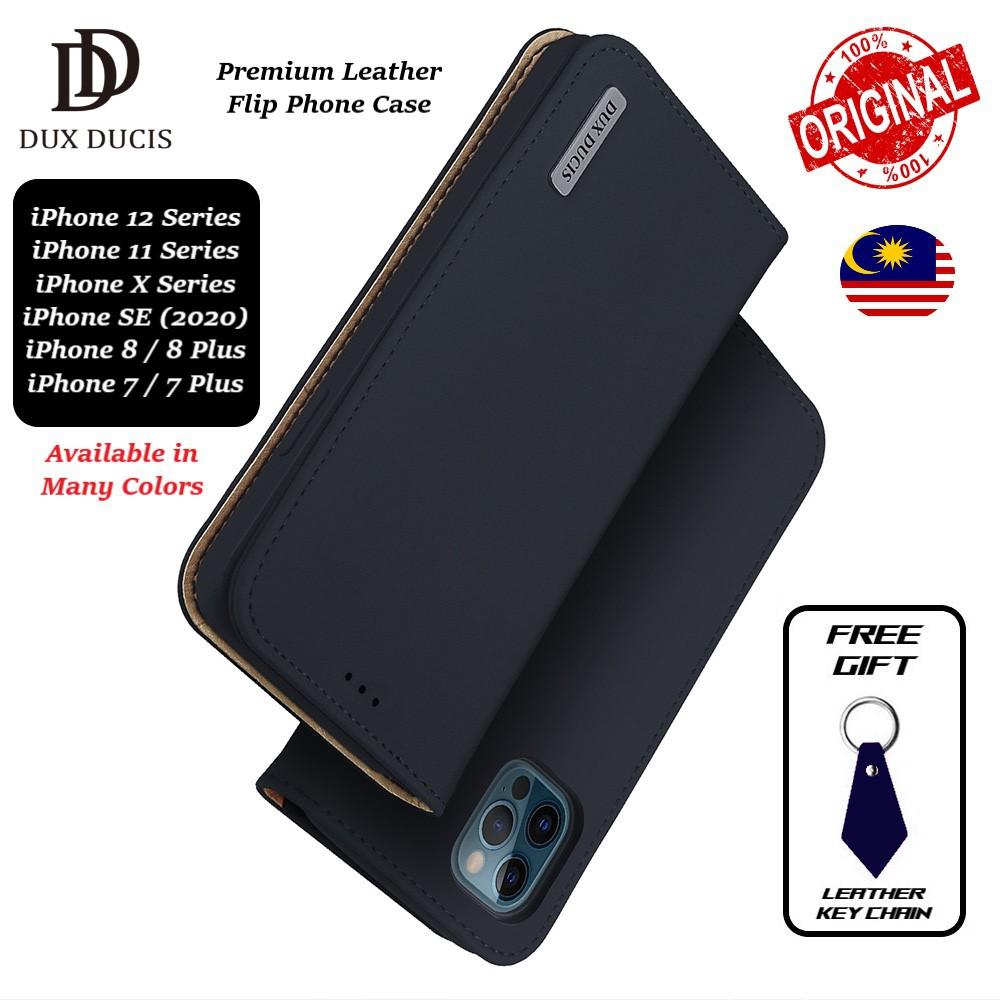 Dux Ducis Wish Apple Iphone 12 Mini 11 Pro Max X Xr Xs 7 8 Plus Se 2020 Magnetic Leather Flip Phone Case Cover Casing Shopee Malaysia
