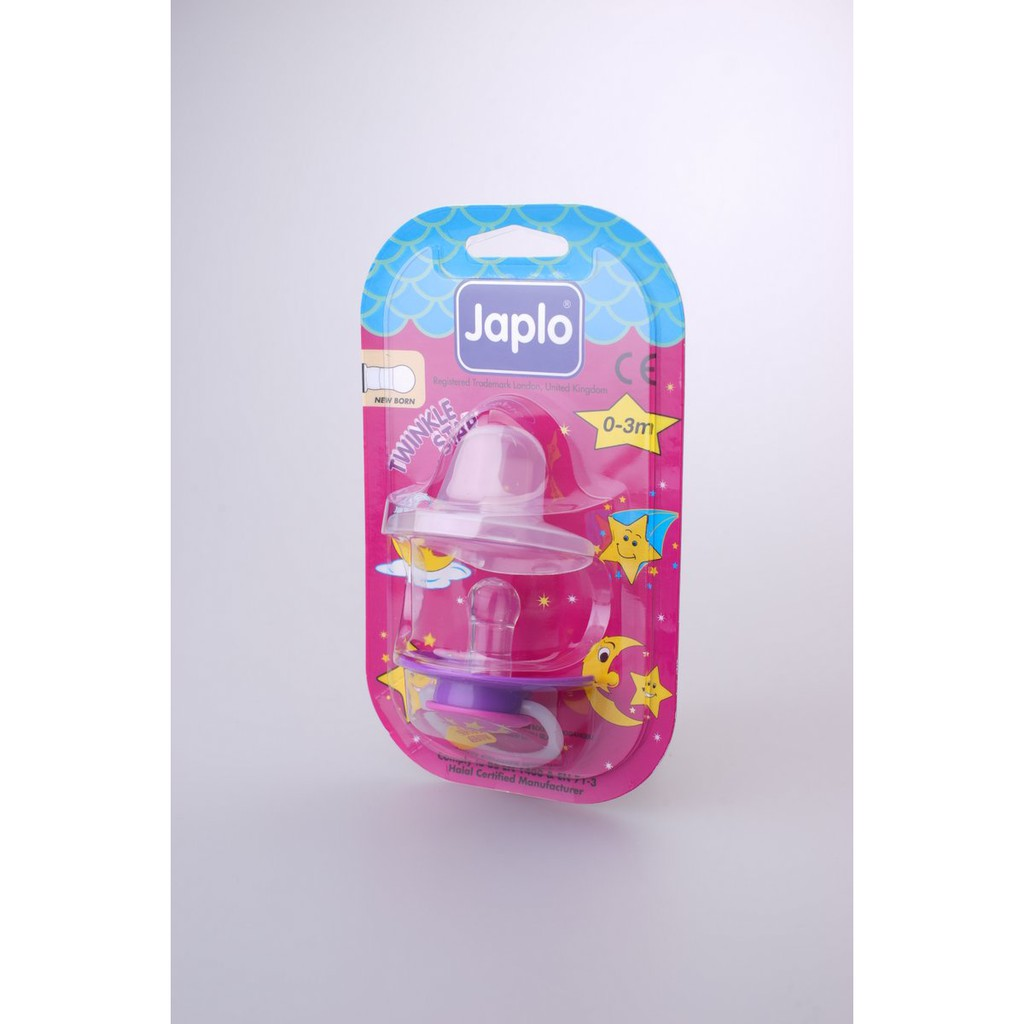 Japlo T/Star New Born - Fr26 Soother - With Night Growth Handle- (With Cover)