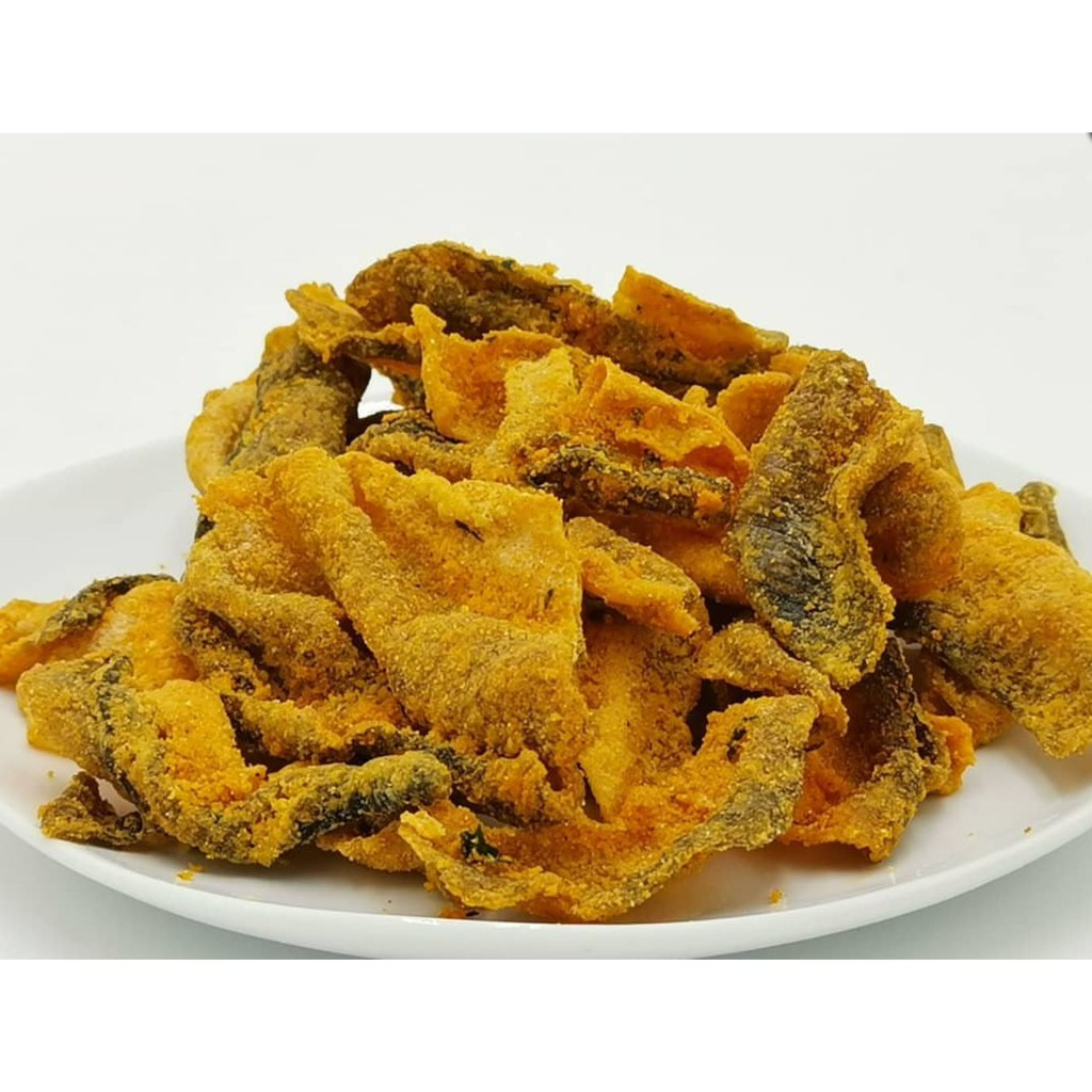 [Original] Hofu Salted Egg Crispy Fish Skin Packet 黄金咸蛋香脆鱼皮 (100g)