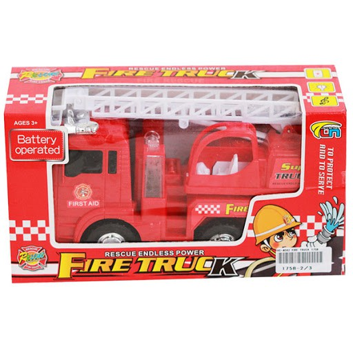 Fire truck toys children car firefighter Toys children toys trucks kids FREE BATTERY FIRE TRUCK TOYS CAR LORI BOMBA.