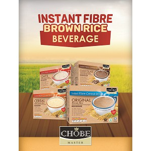 【Carton Deal】Chobe Master Brown Rice Drink with Multivit & Prebiotic (32g x 10's x 24 boxes)