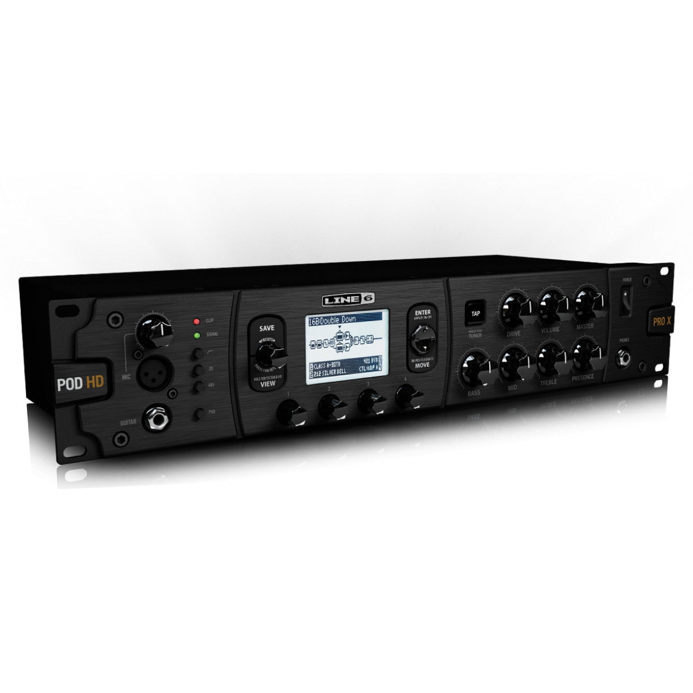 LINE 6 POD HD Pro X - Guitar Rack Processor (Line6)