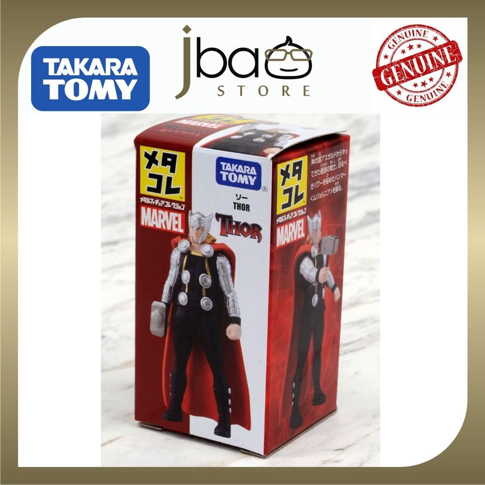 Tomy Takara Metal Figure Collection Marvel Thor Metacolle Abengers Christmas
