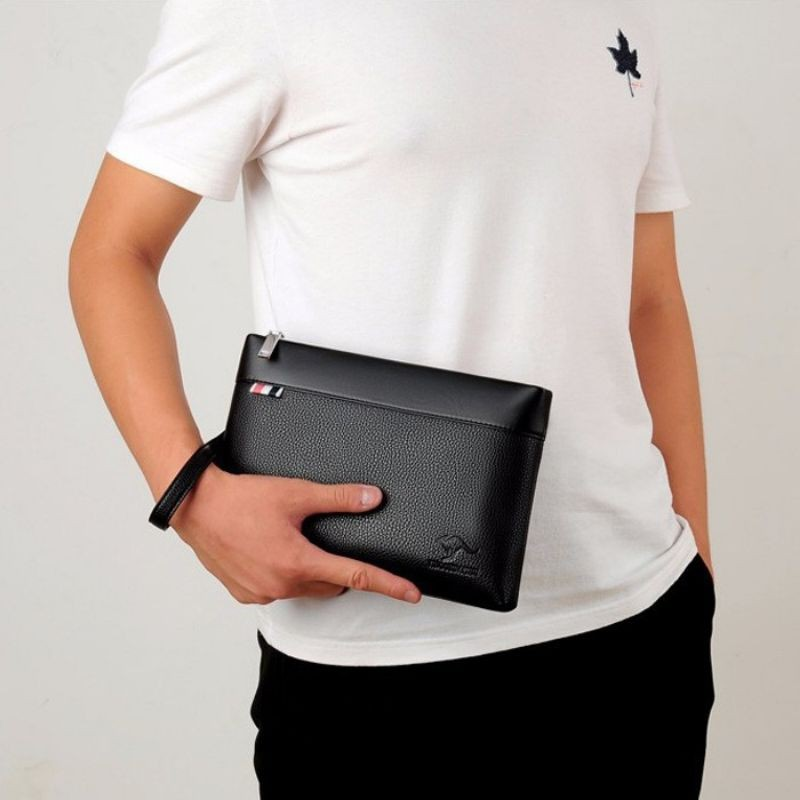 Men Casual Or Business Fashion Trend Clutch Wallet