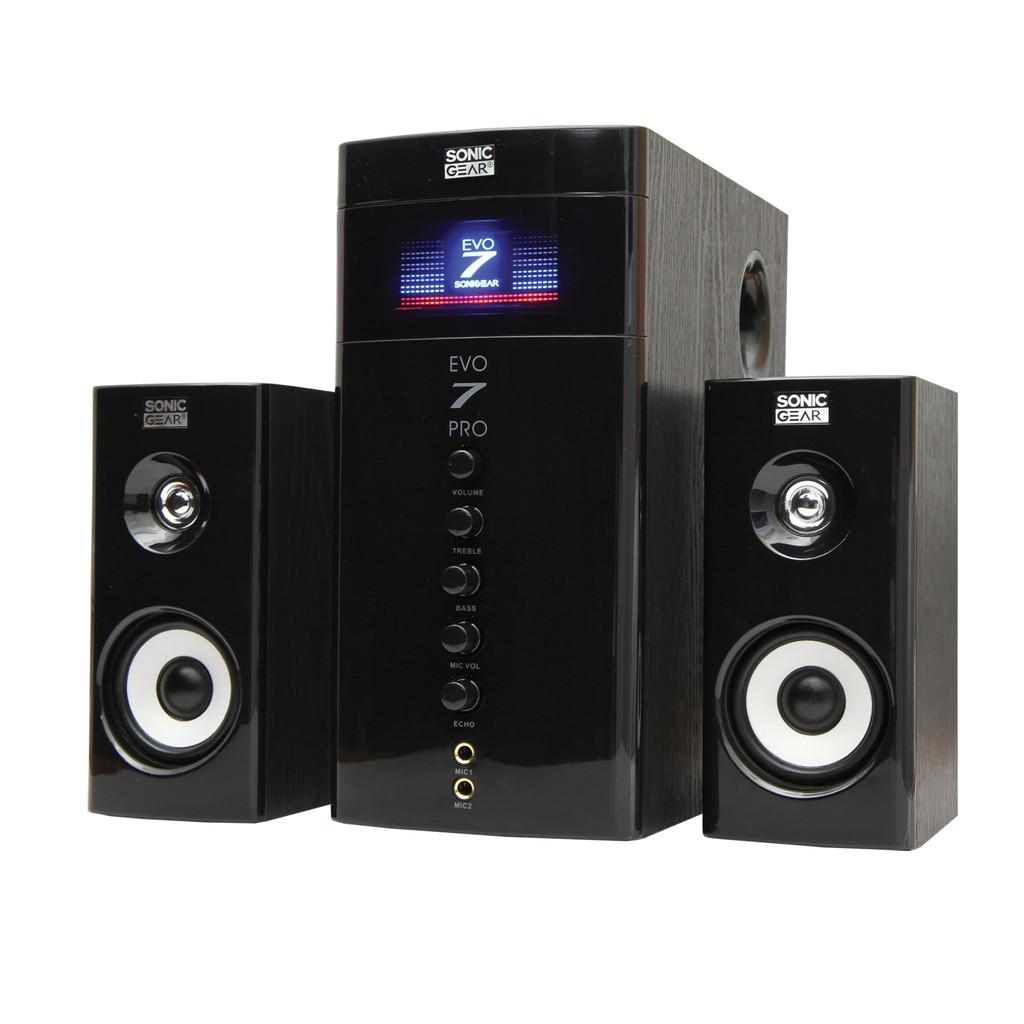 Sonic Gear Evo 7 Pro 21 Multimedia Speaker Black Shopee Malaysia Quatro 2