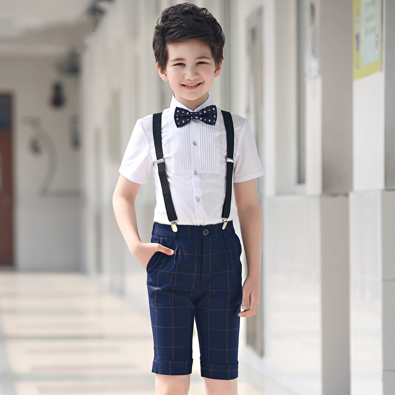 b9218bd0a 5Pcs Infant Toddler & Boy Formal Children Tuxedo Wedding Party Suit Black |  Shopee Malaysia