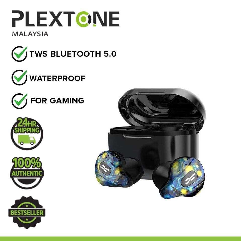 PLEXTONE 4Life TWS True Wireless Gaming Earphone Bluetooth 5.0 Wireless Earbuds Headset Low Latency HD Stereo Surround