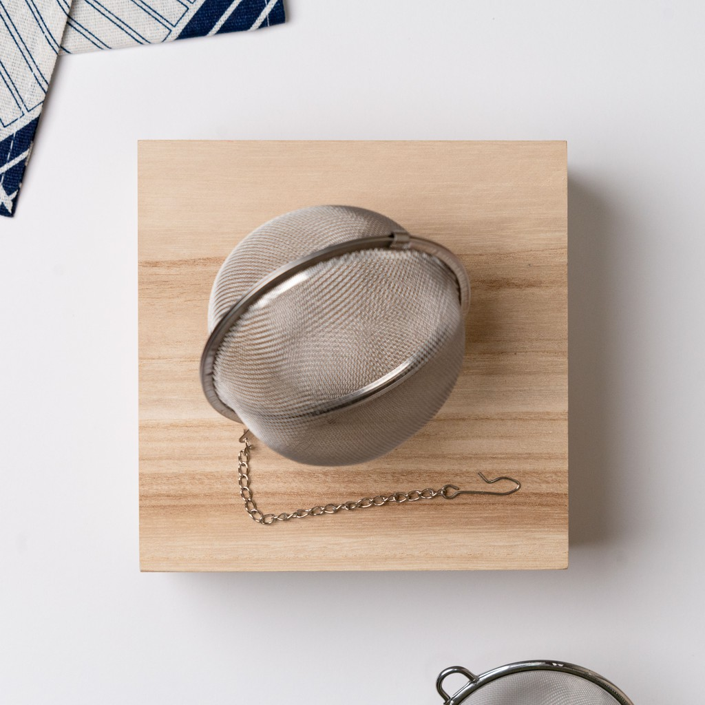 Stainless Steel Tea Infuser Tea Pot Infusers Sphere Mesh Tea Strainer Ball 过滤网状带链茶球卤料调味球