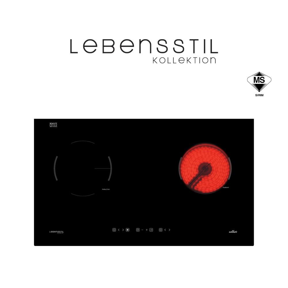 Lebensstil Built-in Hybrid Hob (Induction / Ceramic) LKHH-7302P