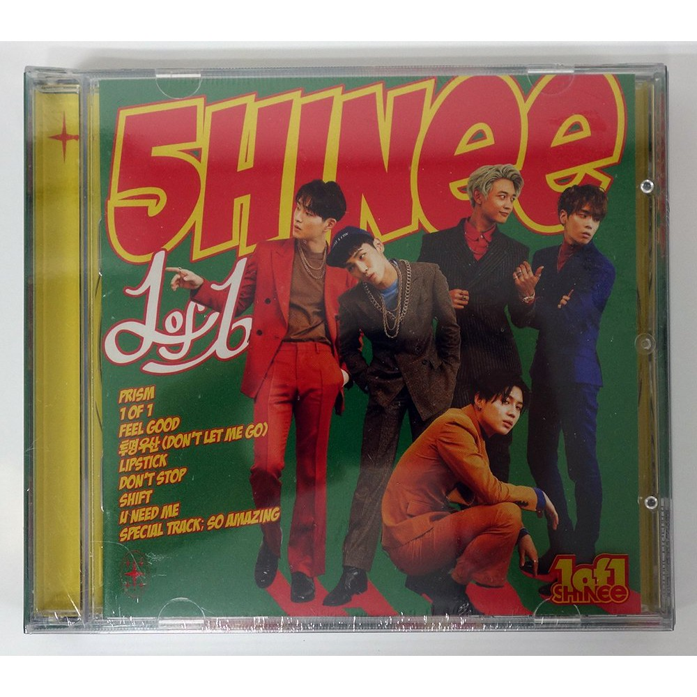 SHINee - 1 of 1 (Vol 5) CD+Extra Gift Photocards Set