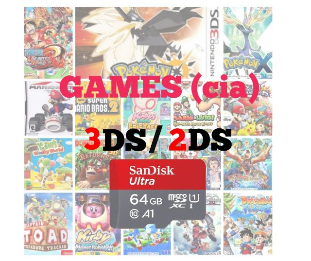 3ds cia games