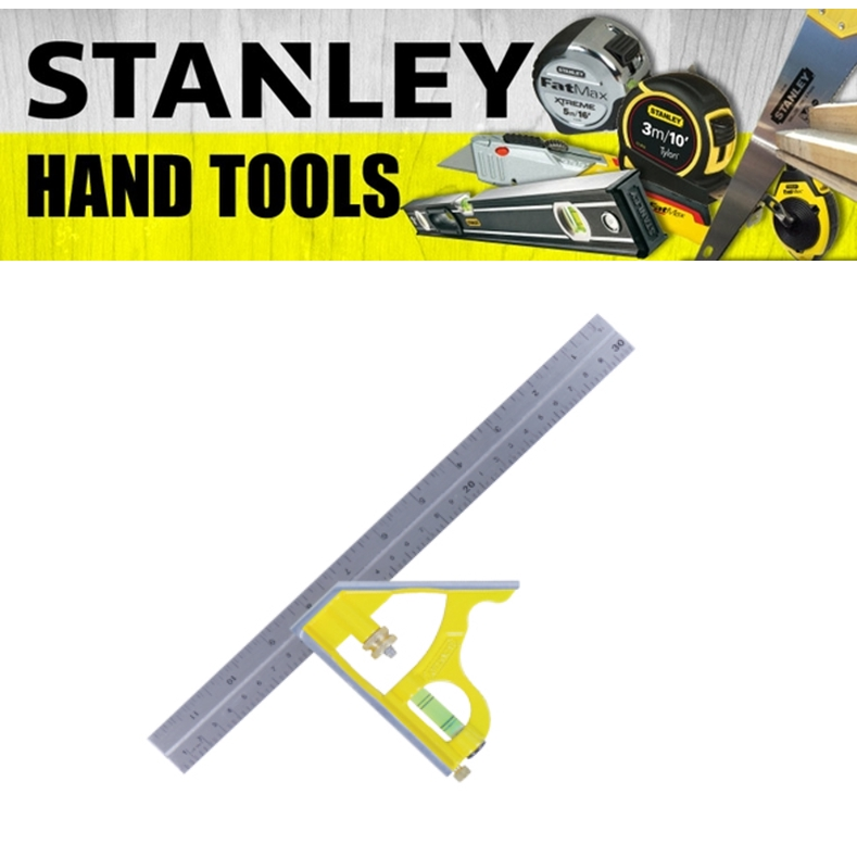 STANLEY COMBINATION SQUARE 46-028 MEASURE TAPE (3 MONTH WARRANTY)