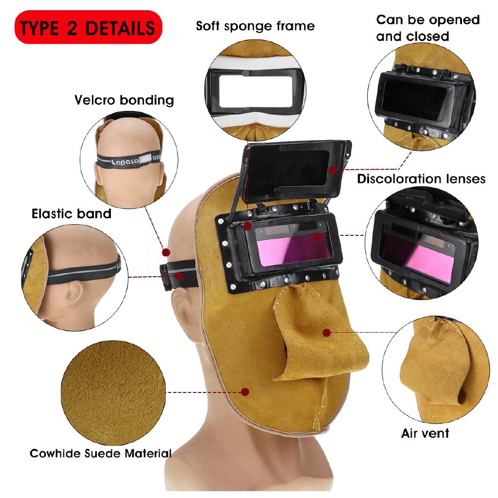 New Lens covers for auto darkening Helmet hood mask