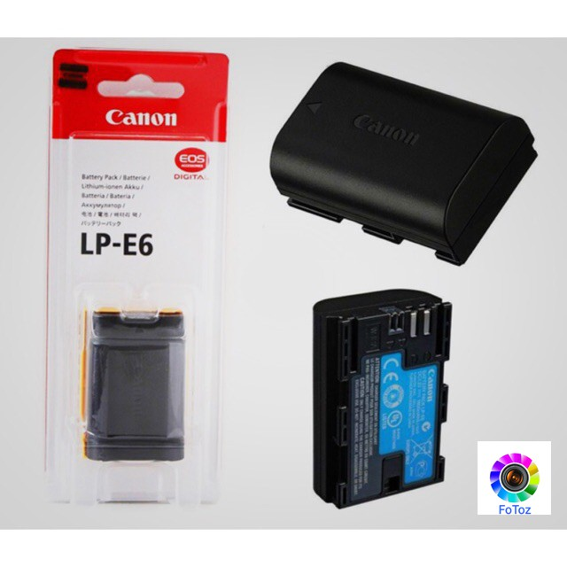 Canon lp-e6 battery original  for eos 60d 70d 80d 5d 6d 7d