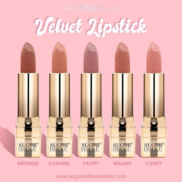 Sugarbelle Velvet Lipstick Gold Series GOLD
